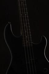black vintage bass