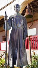 Father Joseph Serra Statue Mission Santa Barbara California