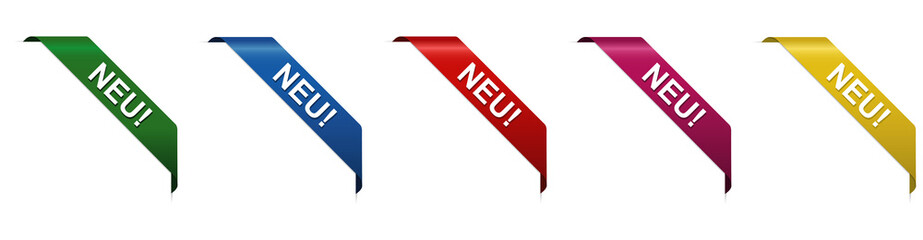 NEU - Eckstickers