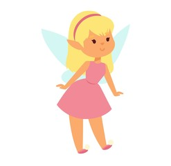Fairies cartoon character vector.