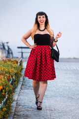 Cute pinup girl dress