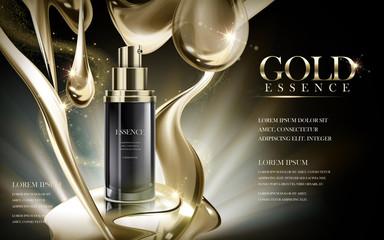 gold essence ad