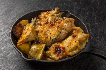 チキンの香草焼き  Herb grill of the chicken