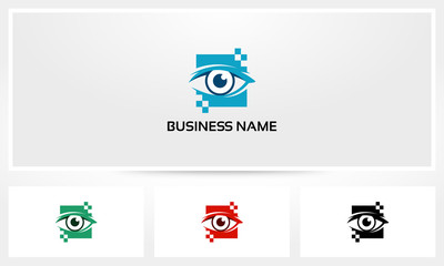 Digital Eye Pixel Logo