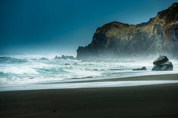Poster Cote Freshwater Rocks Beach California Pacific Coast