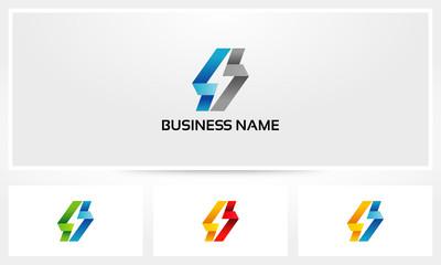 Flash Bolt Thunder Fold Logo