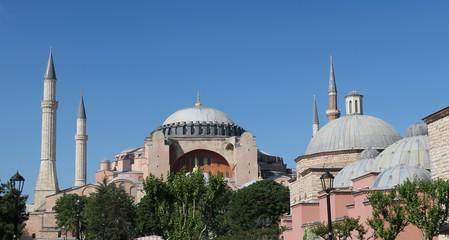 Hahia Sophia Museum in Istanbul, Turkey