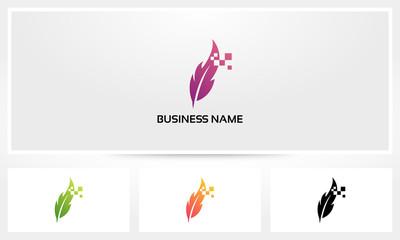 Quill Write Digital Logo
