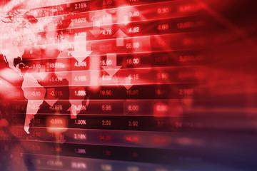 Stock exchange background design