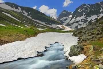 Caucasus in summer
