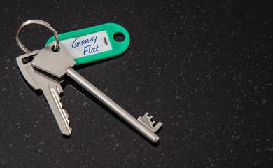Set of Keys to Granny flat