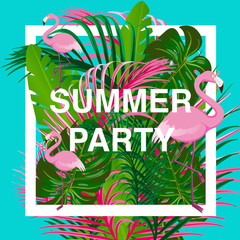 flamingo summer party