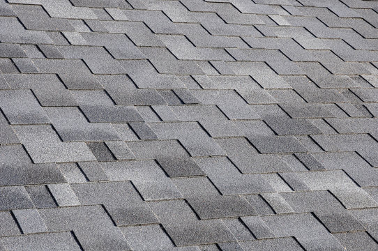 The roof shingles as a background or texture