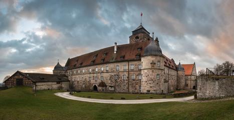 Fortress Rosenberg in Kronach, Bavaria, Germany