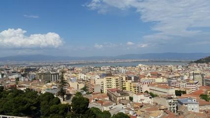 Cagliari, Sardinia, Italy - View of the city