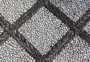 Rolled stone background