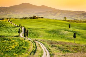 Pienza, Tuscany, italian landscape