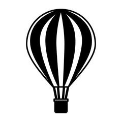 balloon air hot travel vector illustration design