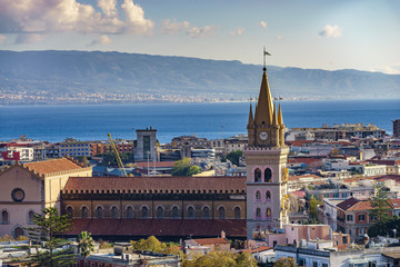 Messina. Sicily. Church. Church of the Madonna di Montalto. The