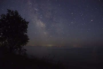 Night Sky in the Upper Peninsula of Michigan.