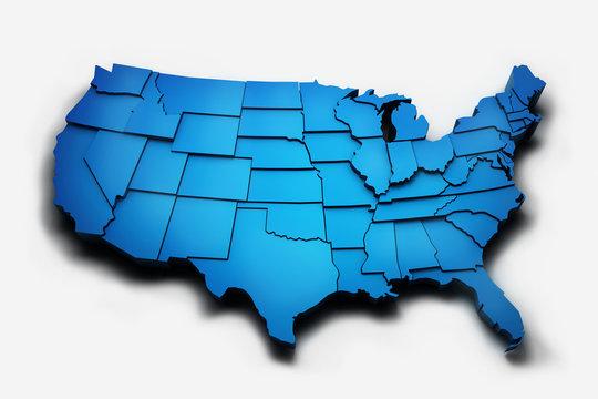 Blue 3D USA