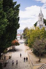 A town square in Oaxaca