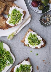 Fava Pea Crostini spread