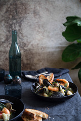 bouillabaisse for two