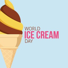 Happy World Ice Cream Day