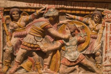 bassorilievo museo archeologico nazionale etrusco