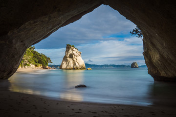 Poster Cathedral Cove Cathedral Cove, Coromandel Peninsula, New Zealand