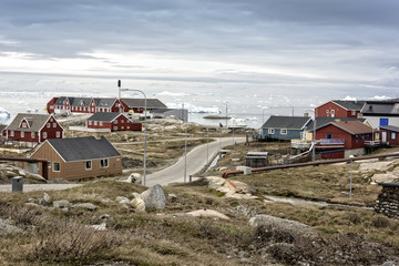 Traditional life in Ilulissat, Greenland. 14.May.2016