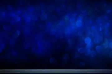Abstract dark blue background with the lines at the bottom