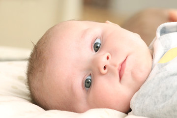 Portrait of a newborn