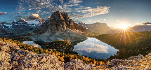 Printed roller blinds Canada canada, lake magog, lake sumburst, lake cerulean