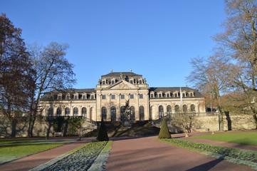 Fuldaer Schlossgarten mit Blick zur Orangerie
