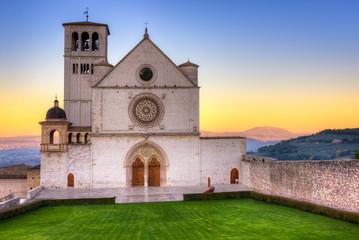Basilica of Saint Francis of Assisi at Dawn