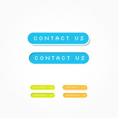 Contact Us Web Buttons