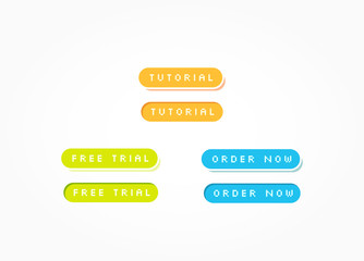 Tutorial, Free Trial & Order Now Web Buttons