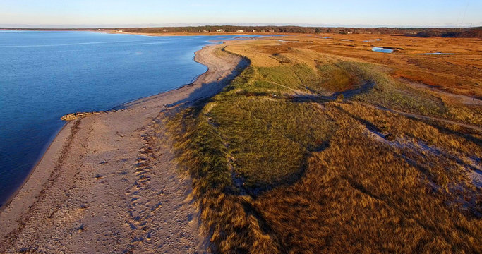 Cape Cod Beach Marsh