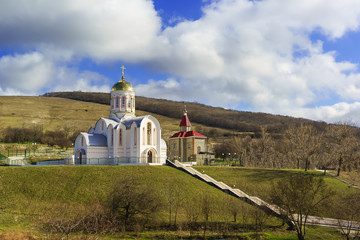 The temple of the great Martyr Varvara, the village of Varvarovka, Anapa, Russia