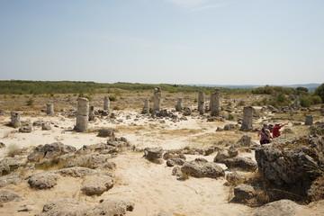 Pobiti Kamani (The Stone Desert), a desert-like rock phenomenon located on the north west Varna Province border in Bulgaria
