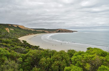 Point Addis Marine National Park in the Great Otway Park on the Great Ocean Road in Victoria, Australia