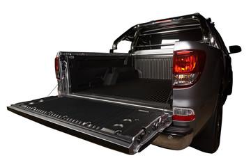 Opened modern trunk pickup