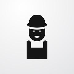 worker icon illustration