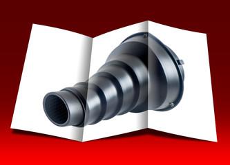 brochure of a spot device flash