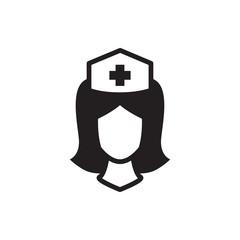 nurse icon illustration