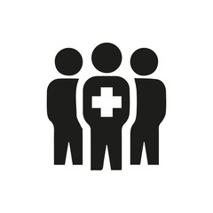 medical group icon illustration