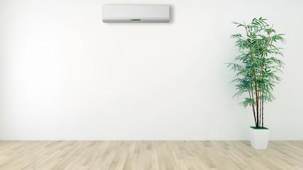 Soggiorno con aria condizionata