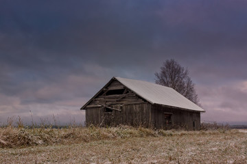 Frost On The Fields